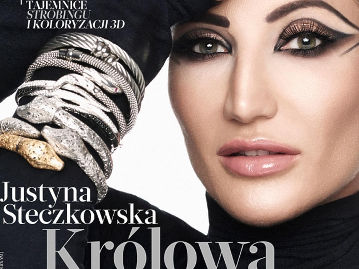 """Justyna Steczkowska na okładce """"Flesz Uroda"""""""