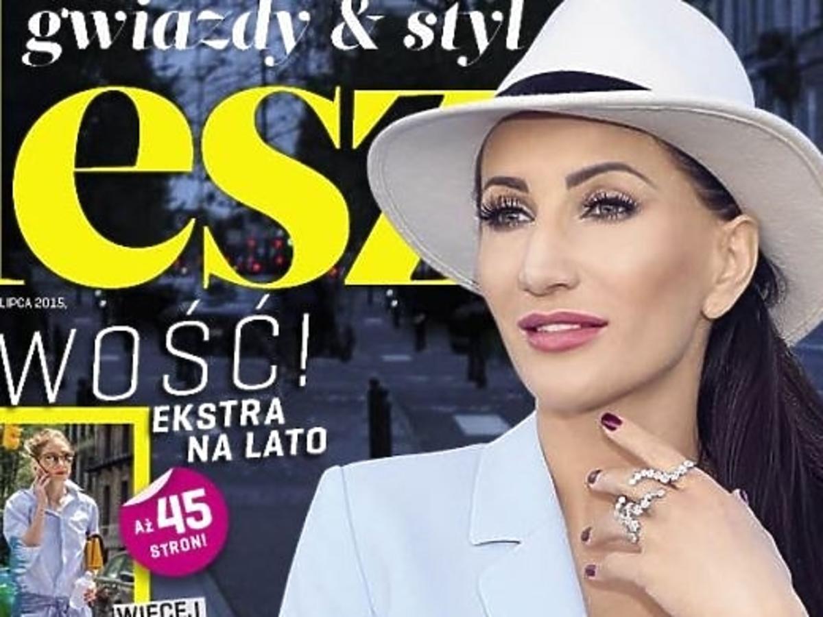 Justyna Steczkowska na okładce Flesza