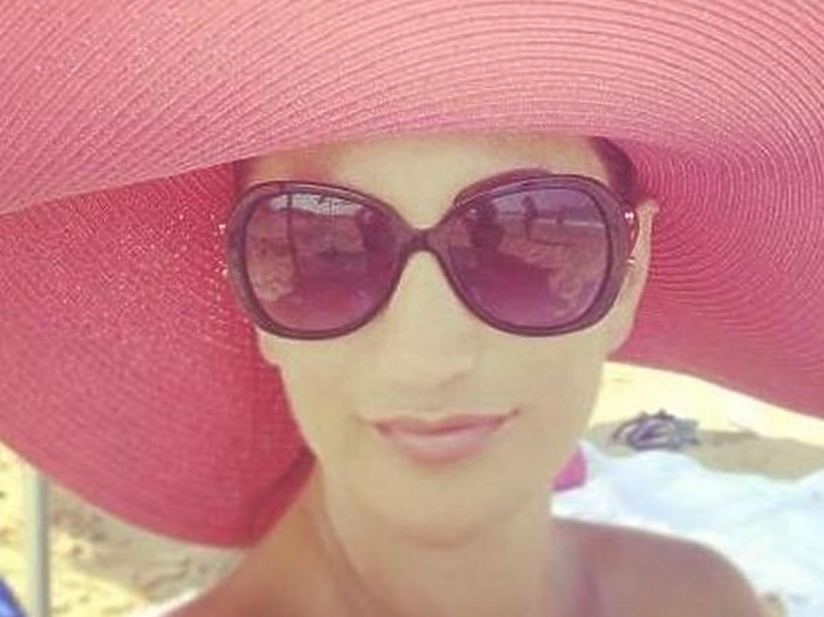 Justyna Steczkowska na wakacjach w Hiszpanii