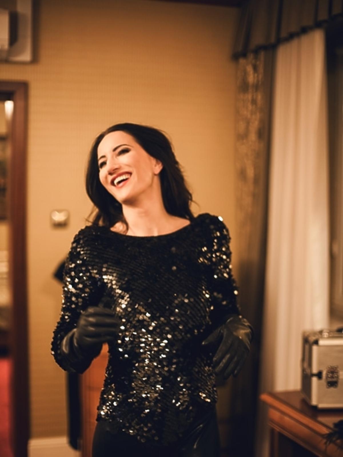 Justyna Steczkowska podczas koncertu dla WOŚP w Rybniku