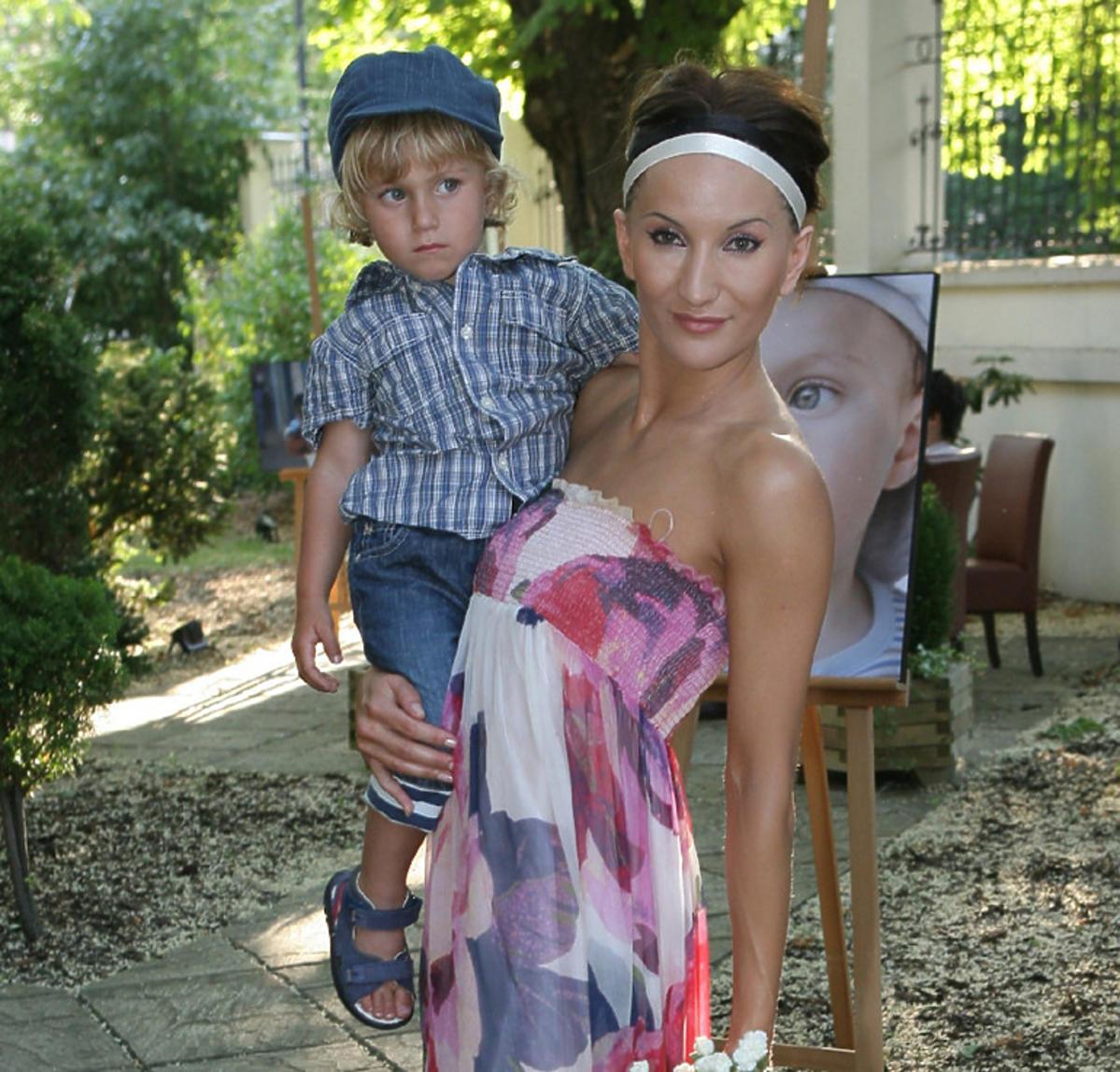 Justyna Steczkowska pokazała synów na wakacjach