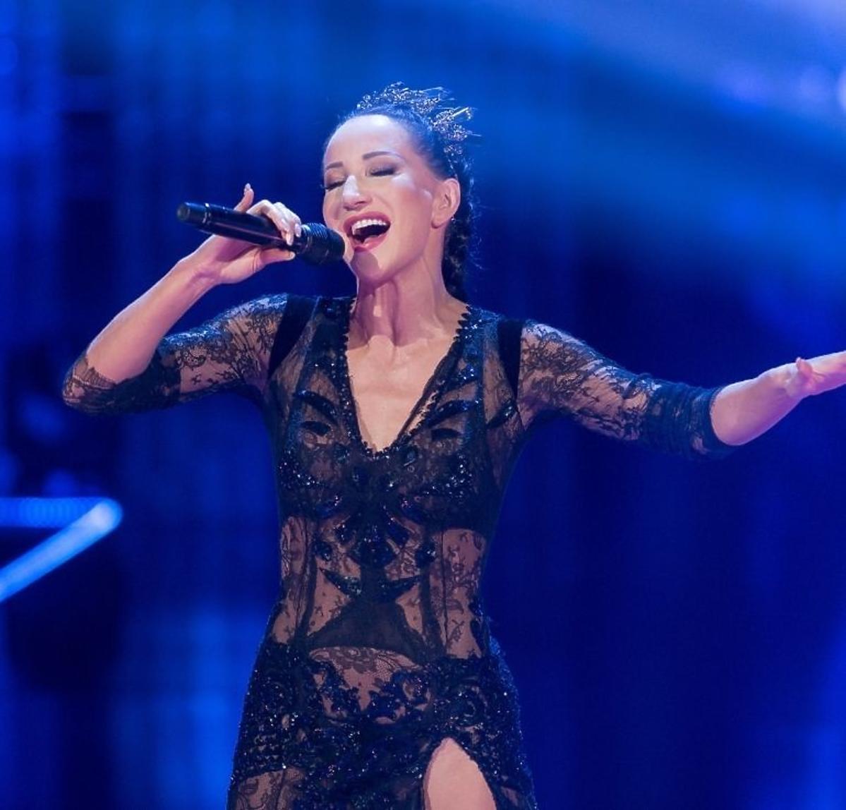 Justyna Steczkowska w finale The Voice of Poland
