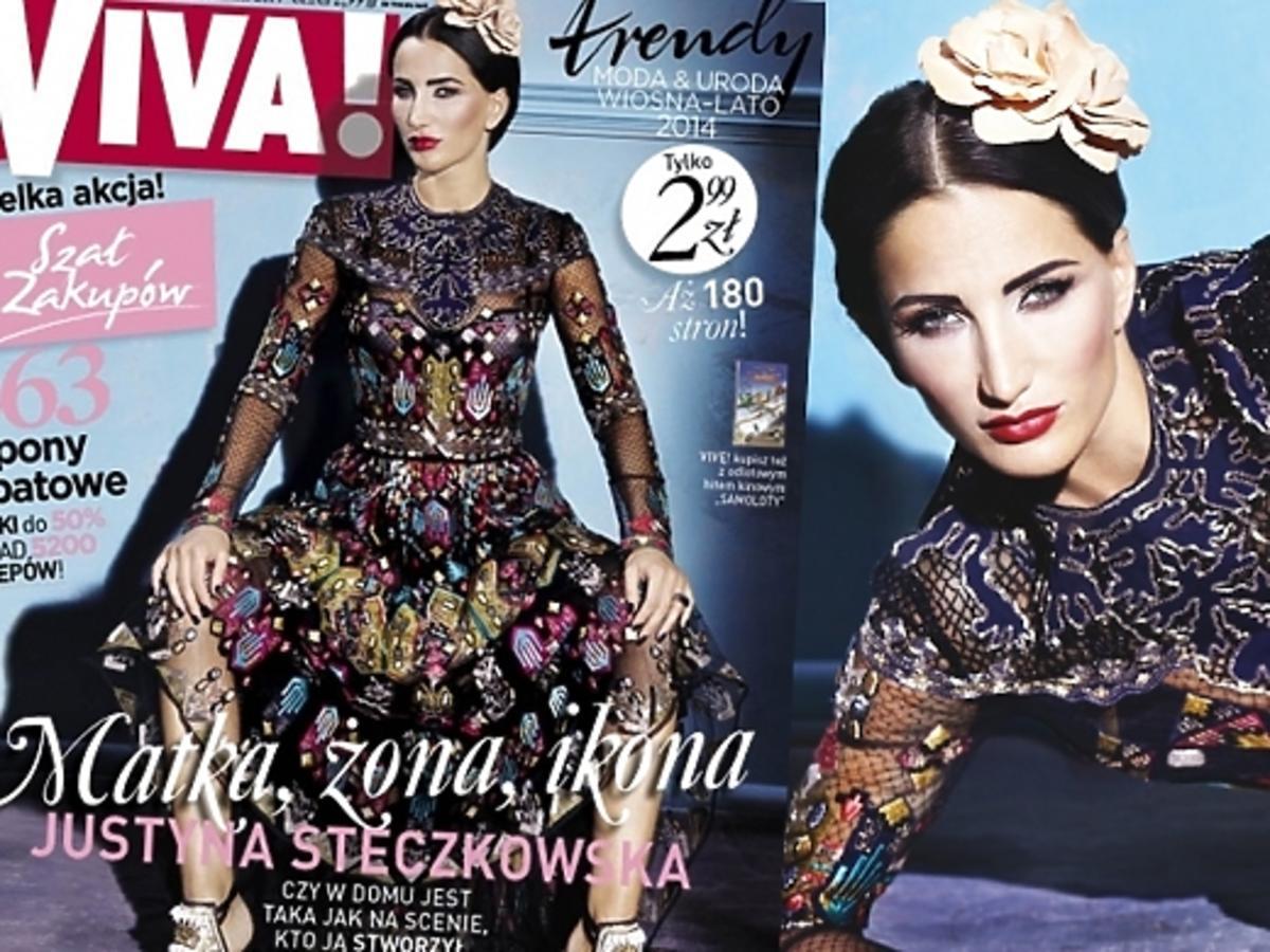 Justyna Steczkowska wywiad i sesja w Vivie 2014