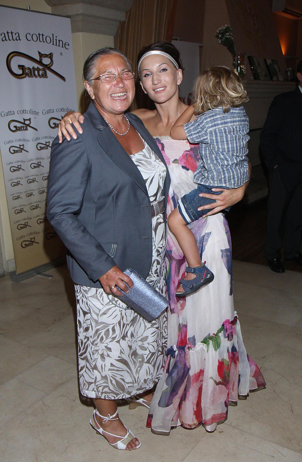 Justyna Steczkowska z mamą 2008 rok