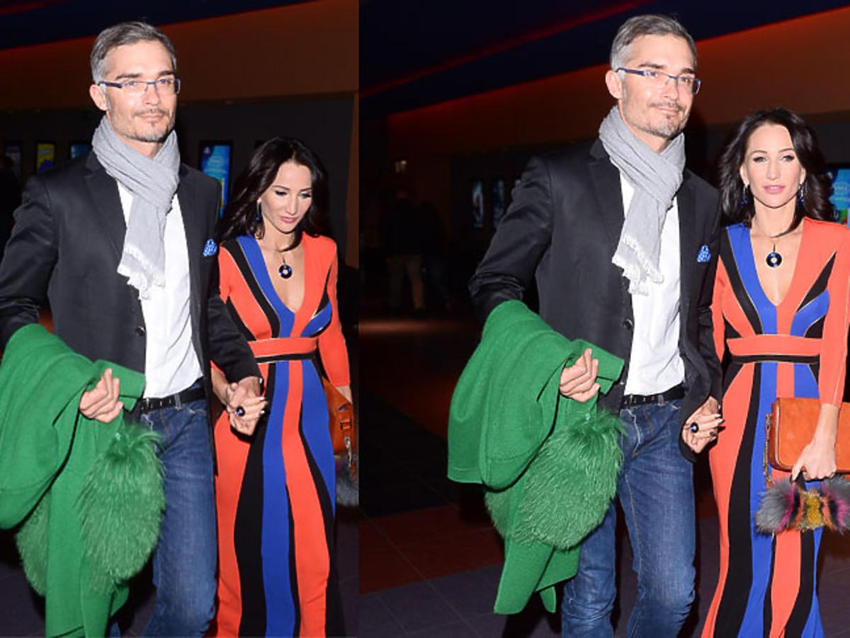 Justyna Steczkowska z mężem Maciejem Myszkowskim