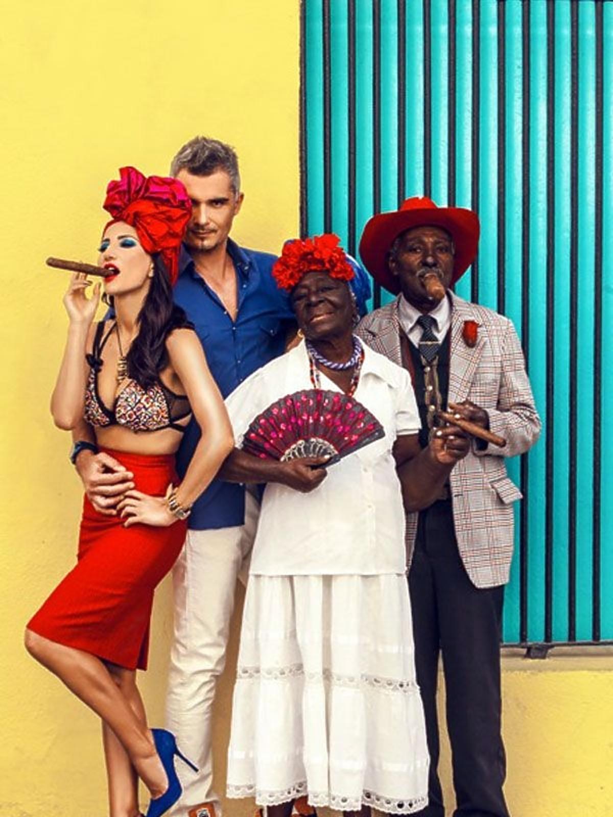 Justyna Steczkowska z mężem w Hawanie - sesja Viva!