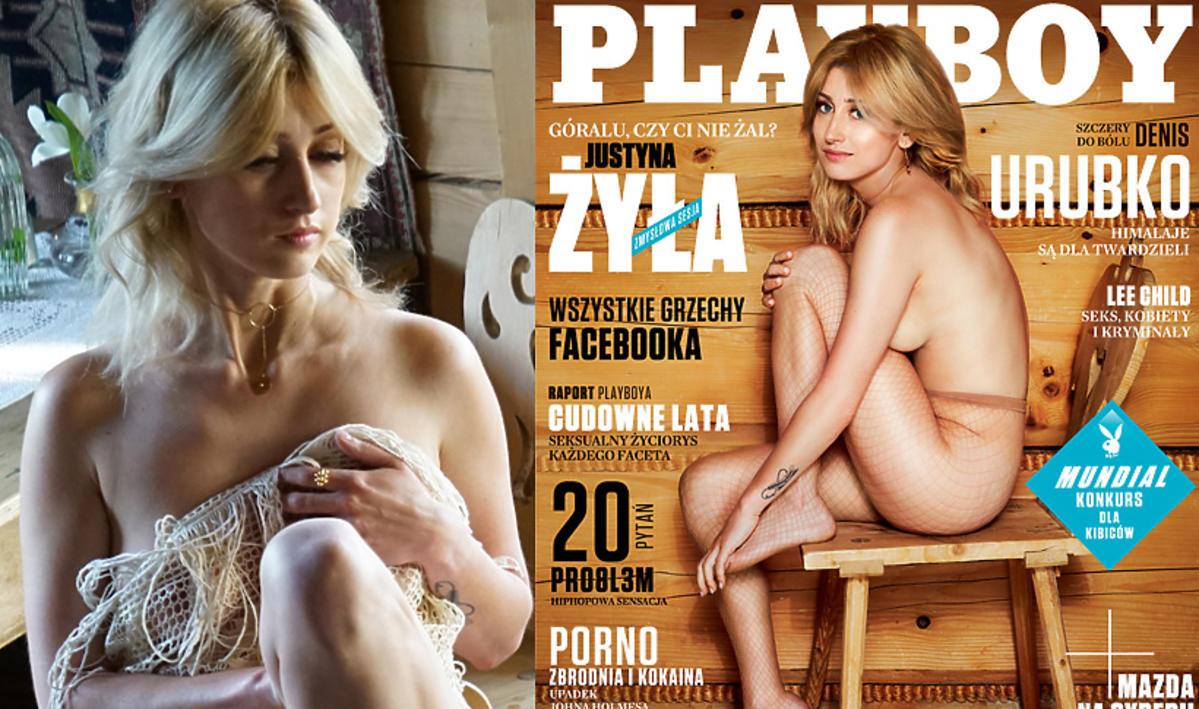 Justyna Żyła w sesji dla Playboya - kulisy