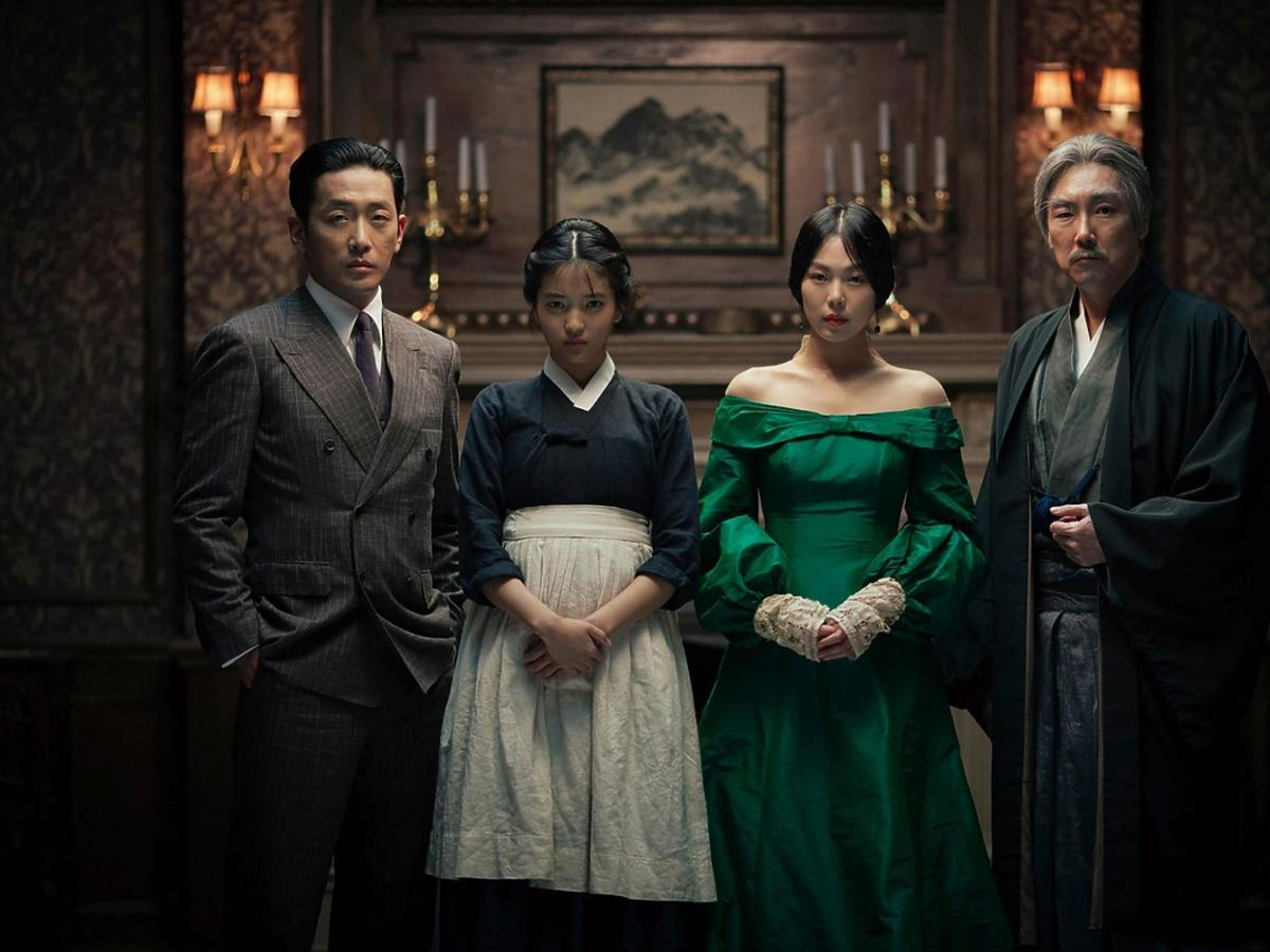 Kadr z koreańskiego filmu Służąca Chan Wook-park
