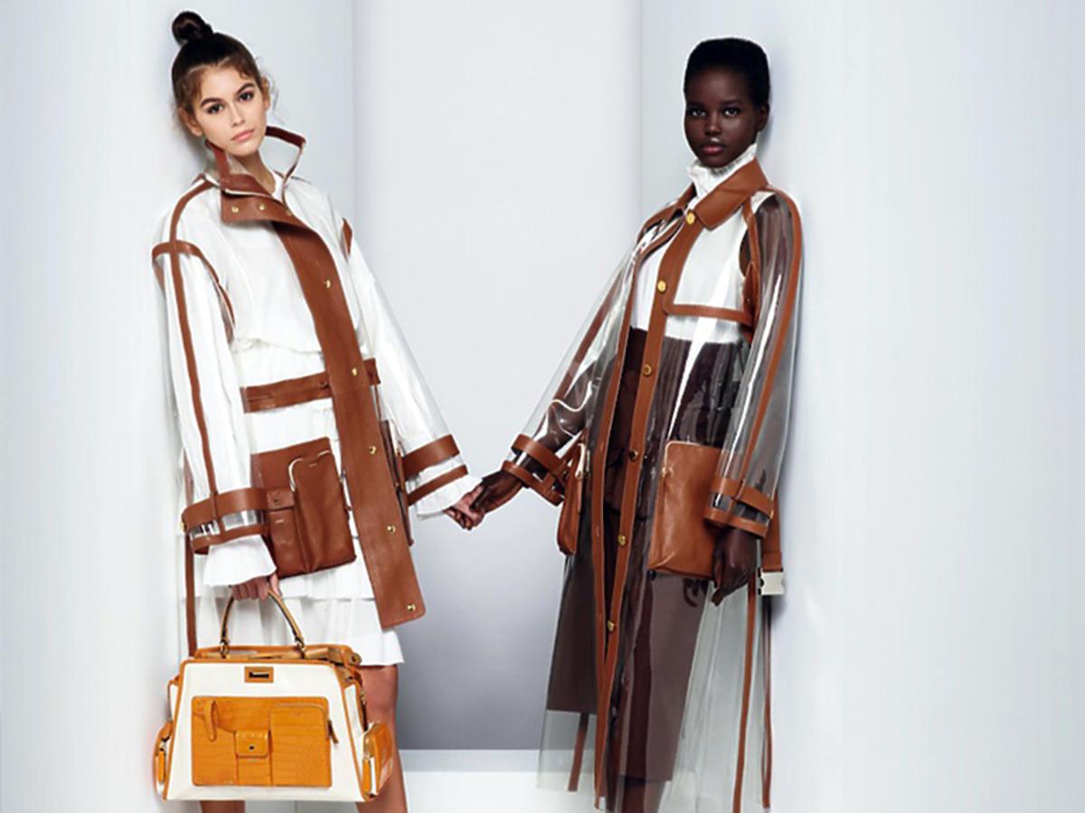 Kaia Gerber w kampanii Karla Lagerfelda dla Fendi
