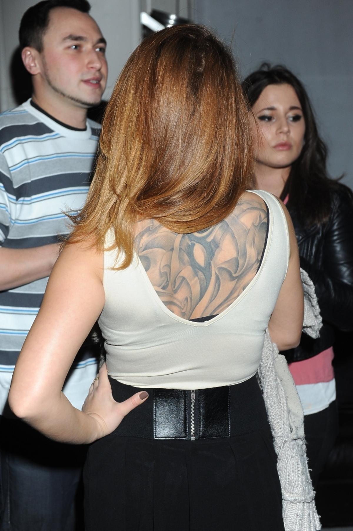 Kaja Paschalska tatuaż