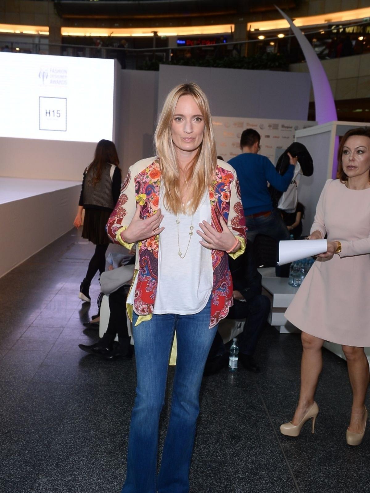 Kaja Sródka na imprezie Fashion Designer Awards