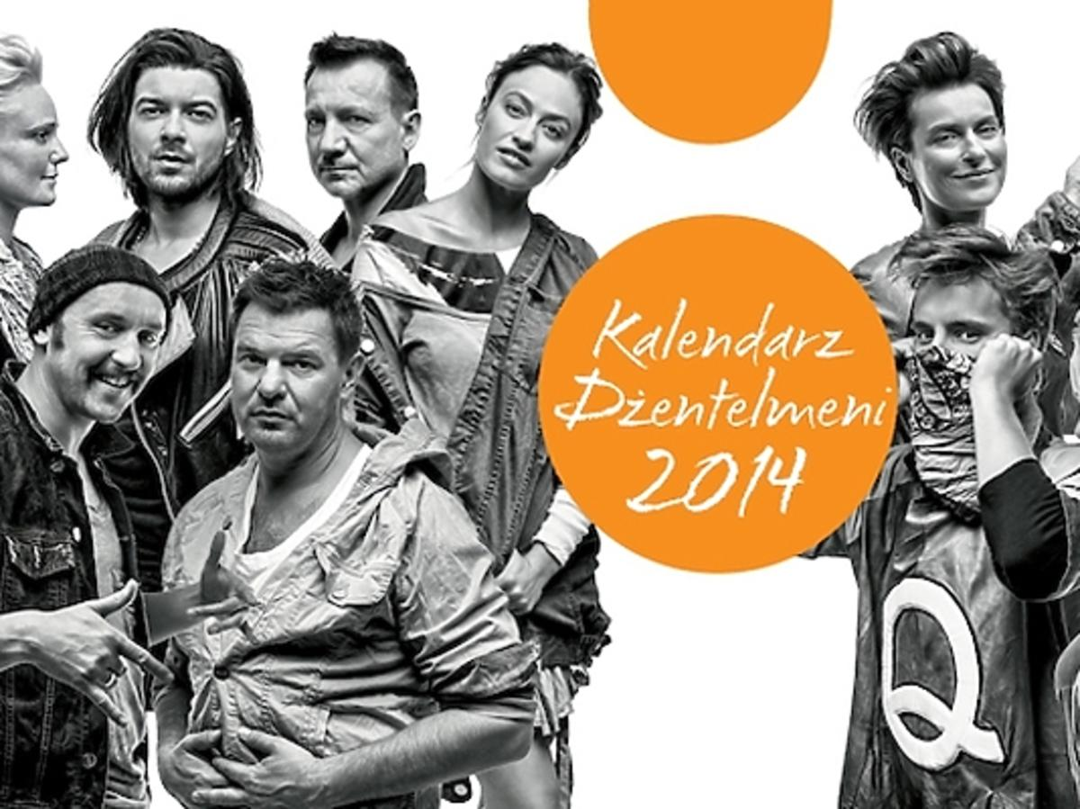 Kalendarz Dżentelmeni 2014