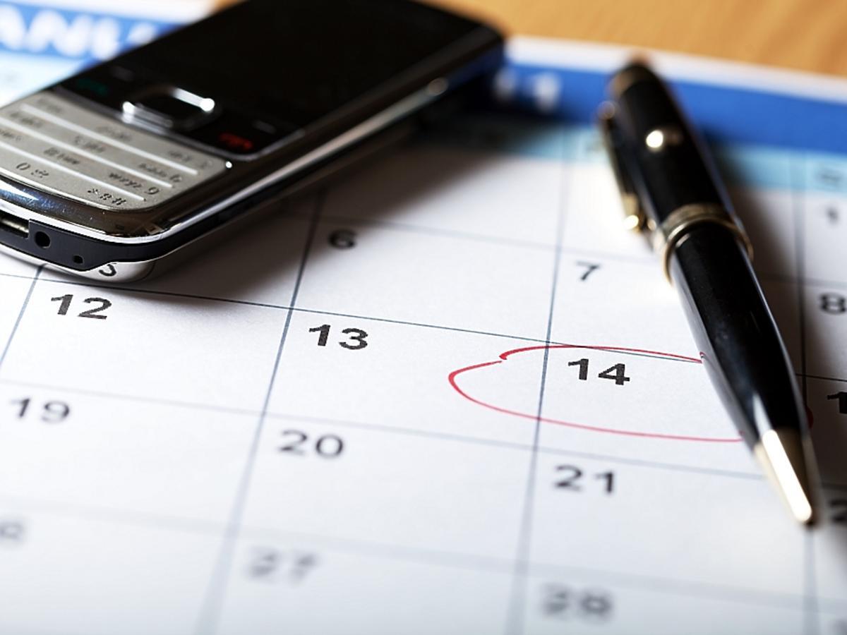 kalendarz i telefon