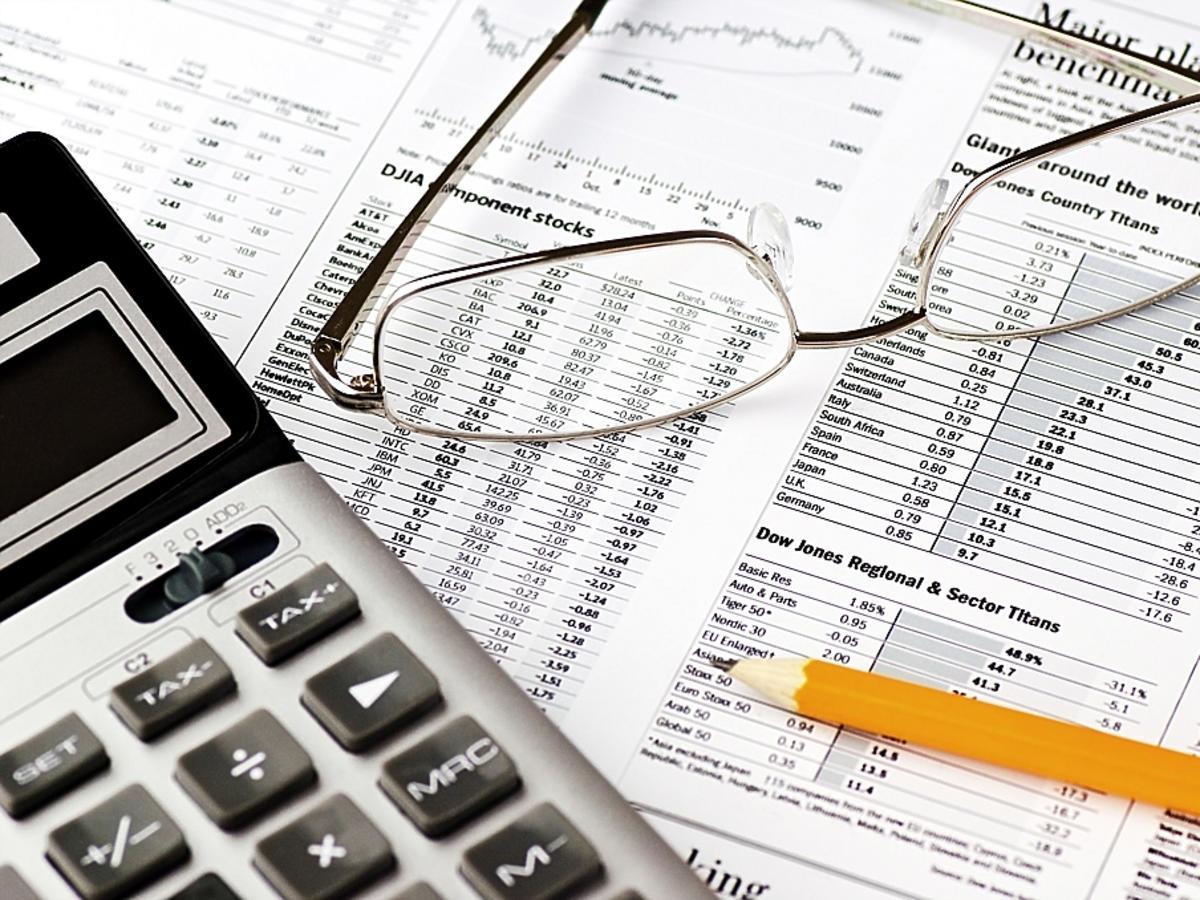 kalkulator i okulary