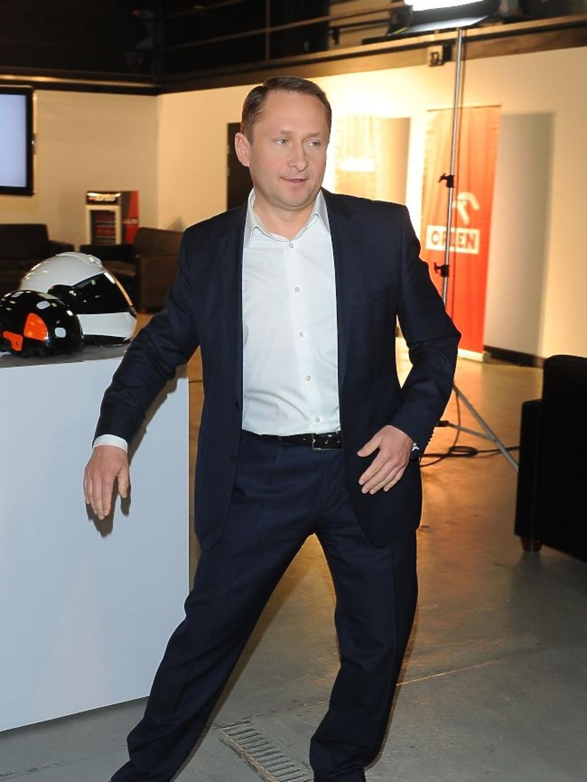 Kamil Durczok podczas obrad jury plebiscytu Męska Rzecz 2012