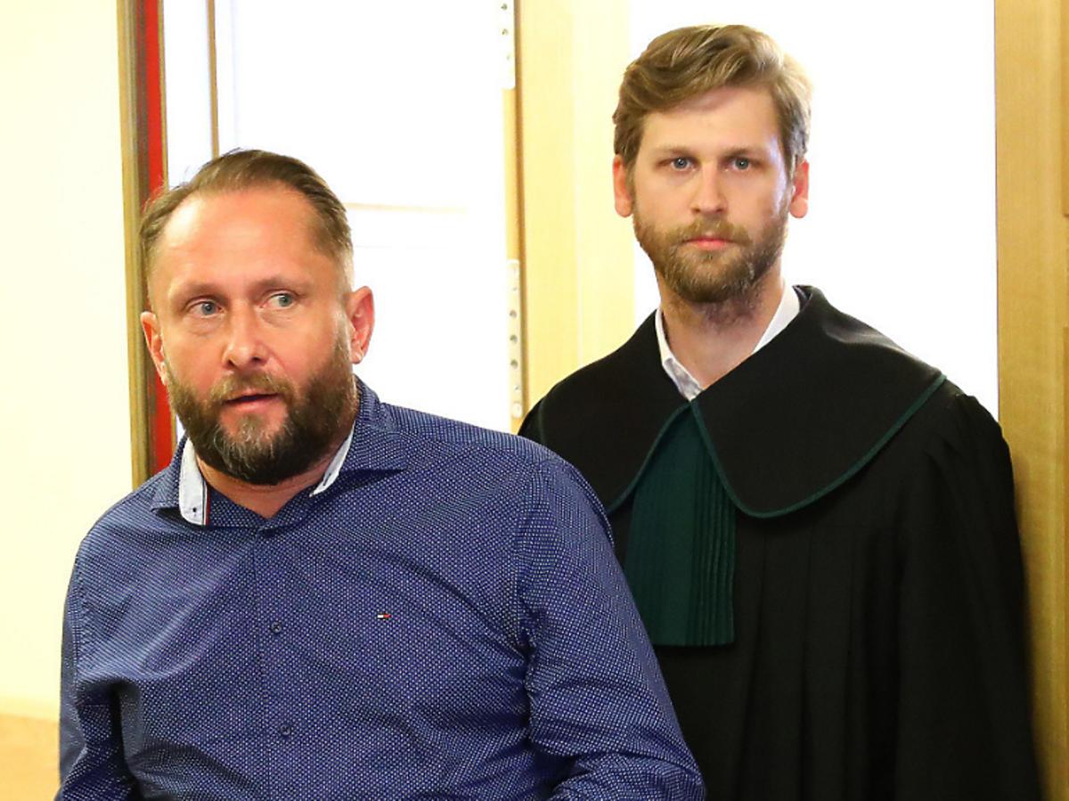 KAmil Durczok w sądzie przeprosił za kolizję