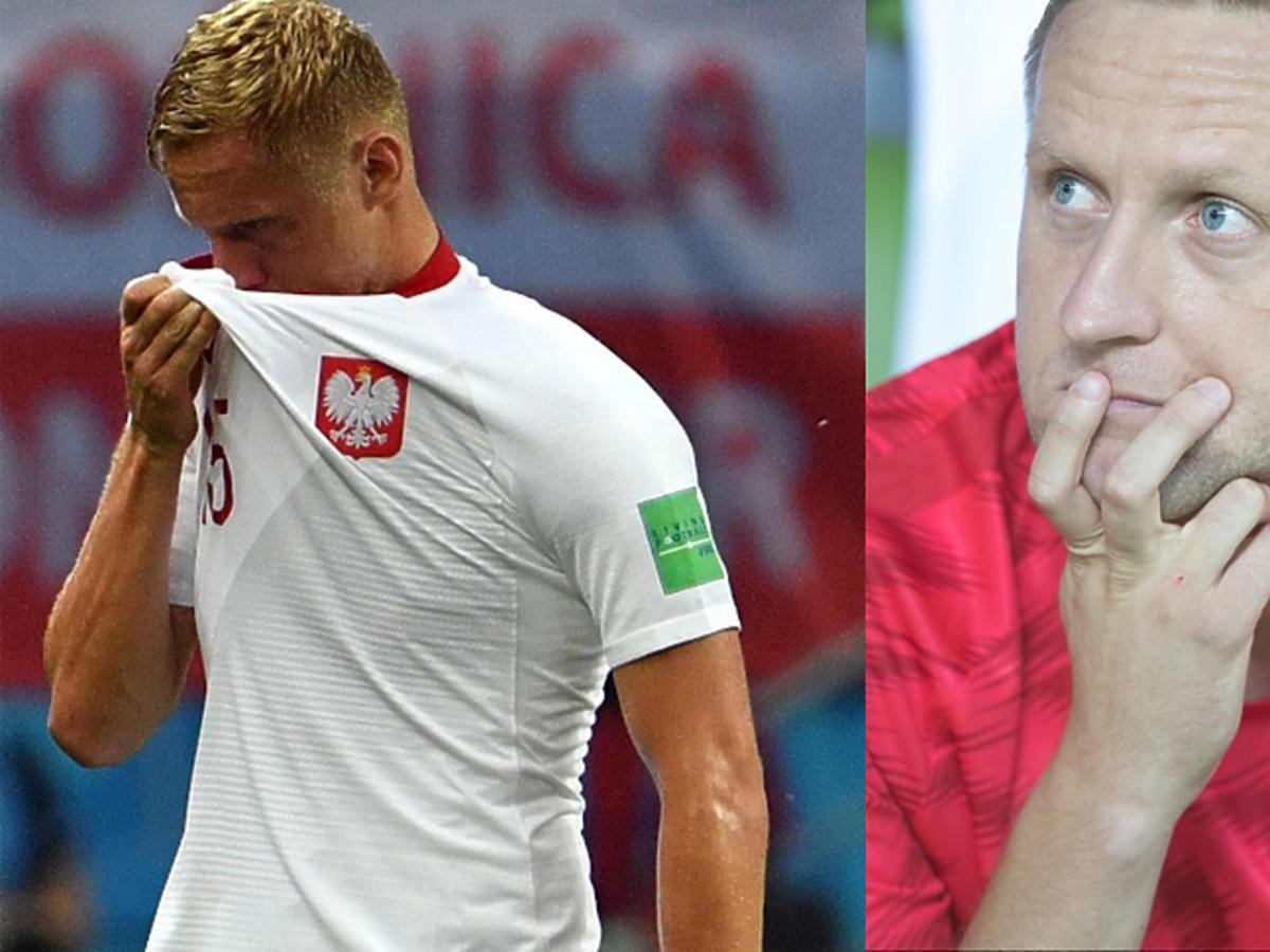 Kamil Glik podczas Mundialu w Rosji