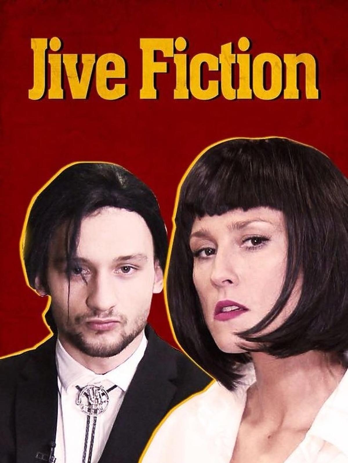 Kamil Kuroczko i Sylwia Juszczak na plakacie filmowym