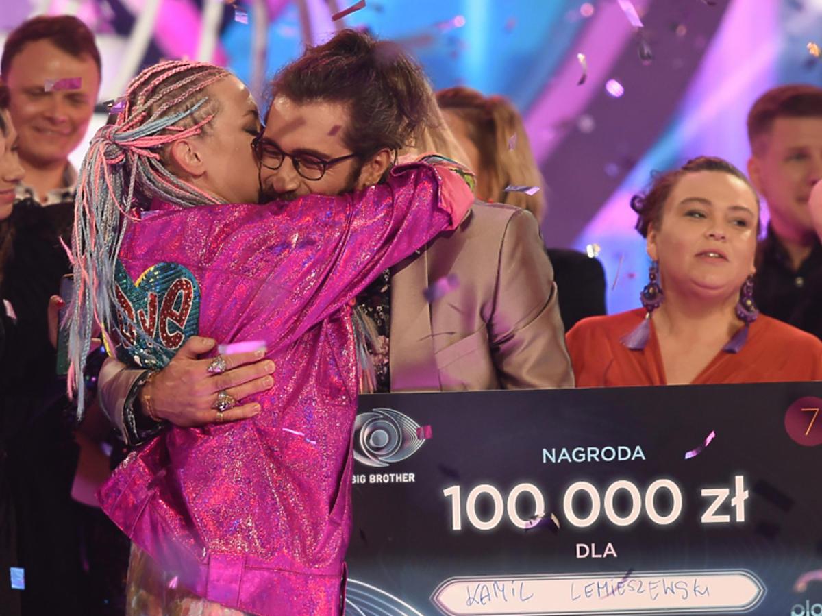Kamil Lemieszewski z Ewą z Big Brothera