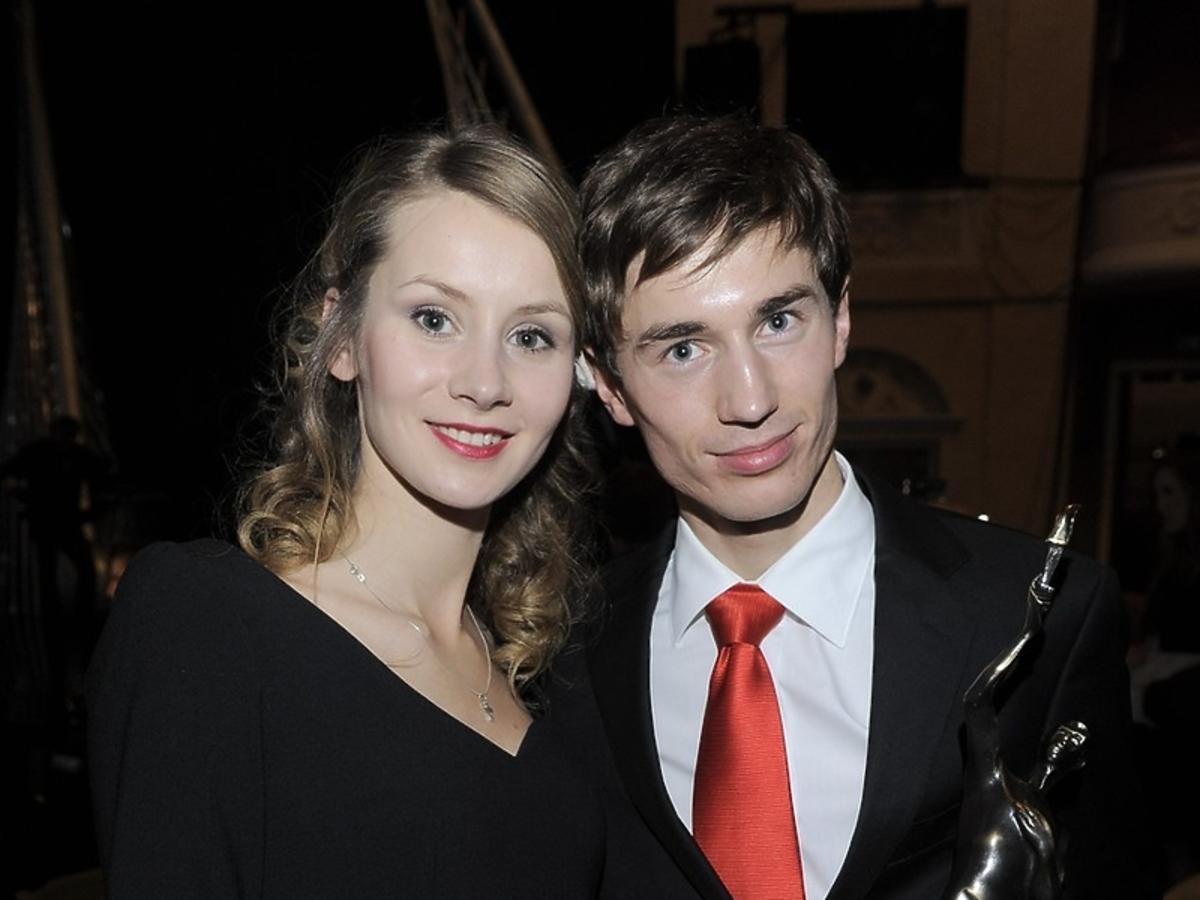 Kamil Stoch i Ewa Stoch, 2012
