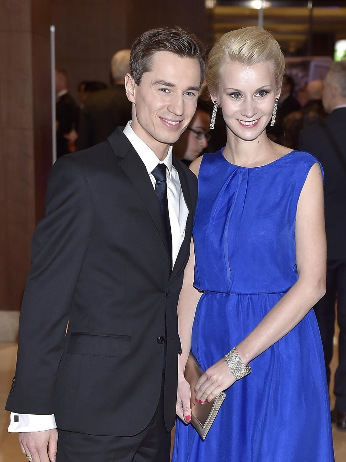 Kamil Stoch z żoną na Gali Mistrzów Sportu 2015