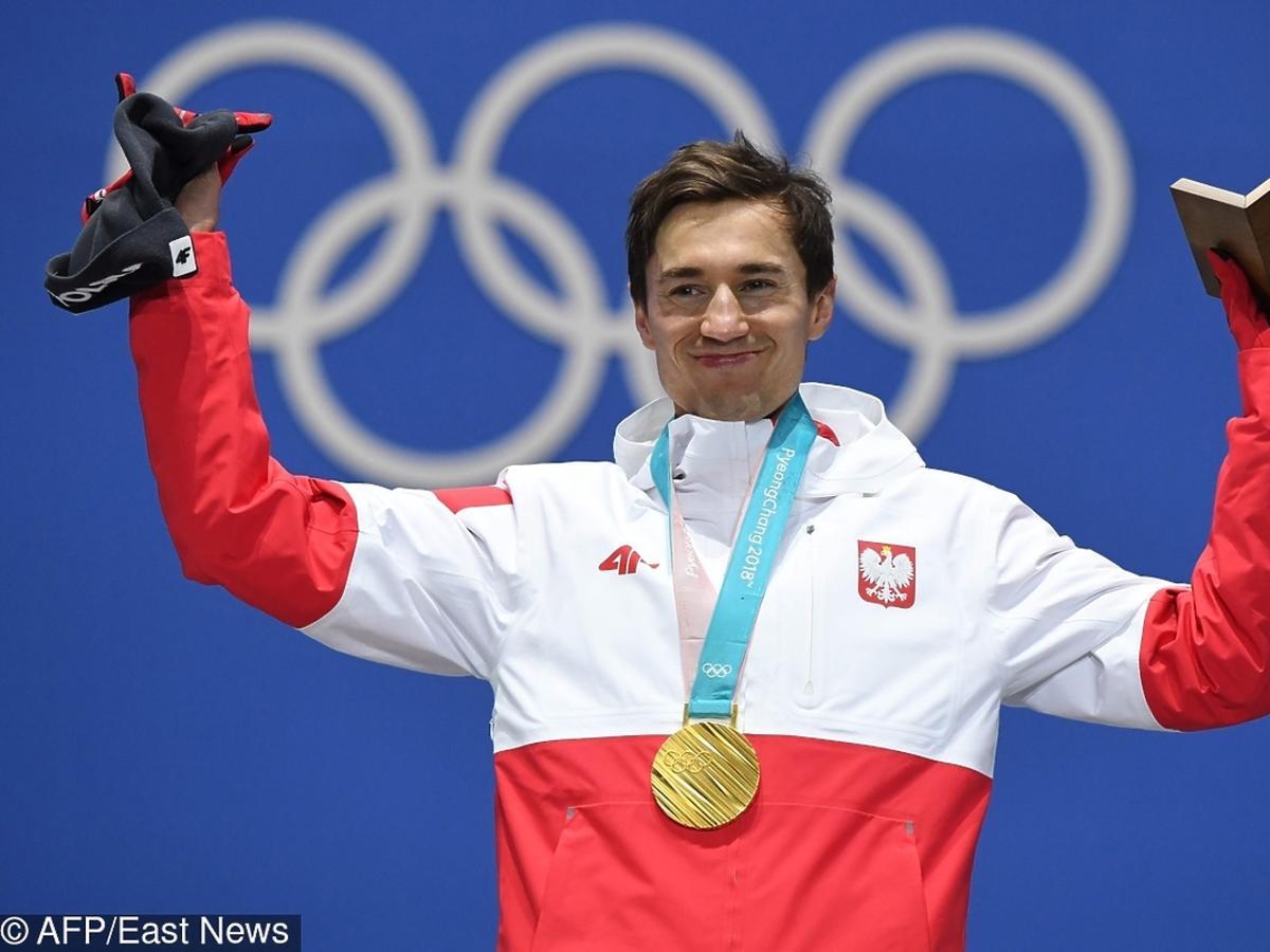 Kamil Stoch ze złotym medalem olimpijskim Pjongczang