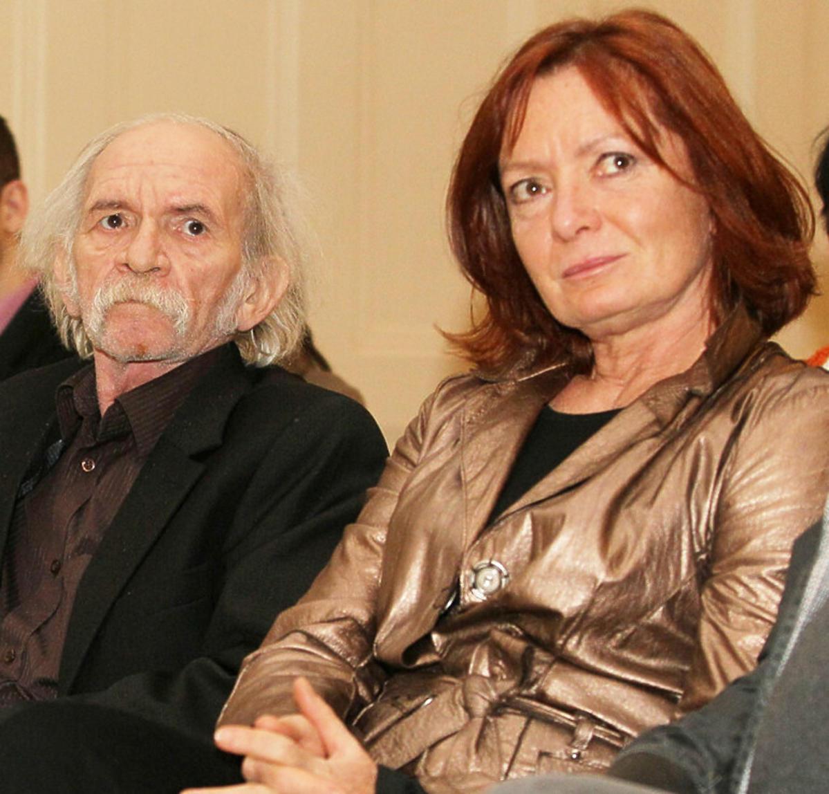 Kamila Sammler, żona Ryszarda kotysa i Bohdan Smoleń