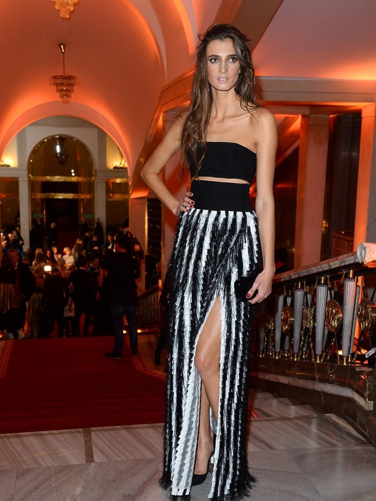 Kamila Szczawińska na imprezie Flesz Fashion Night