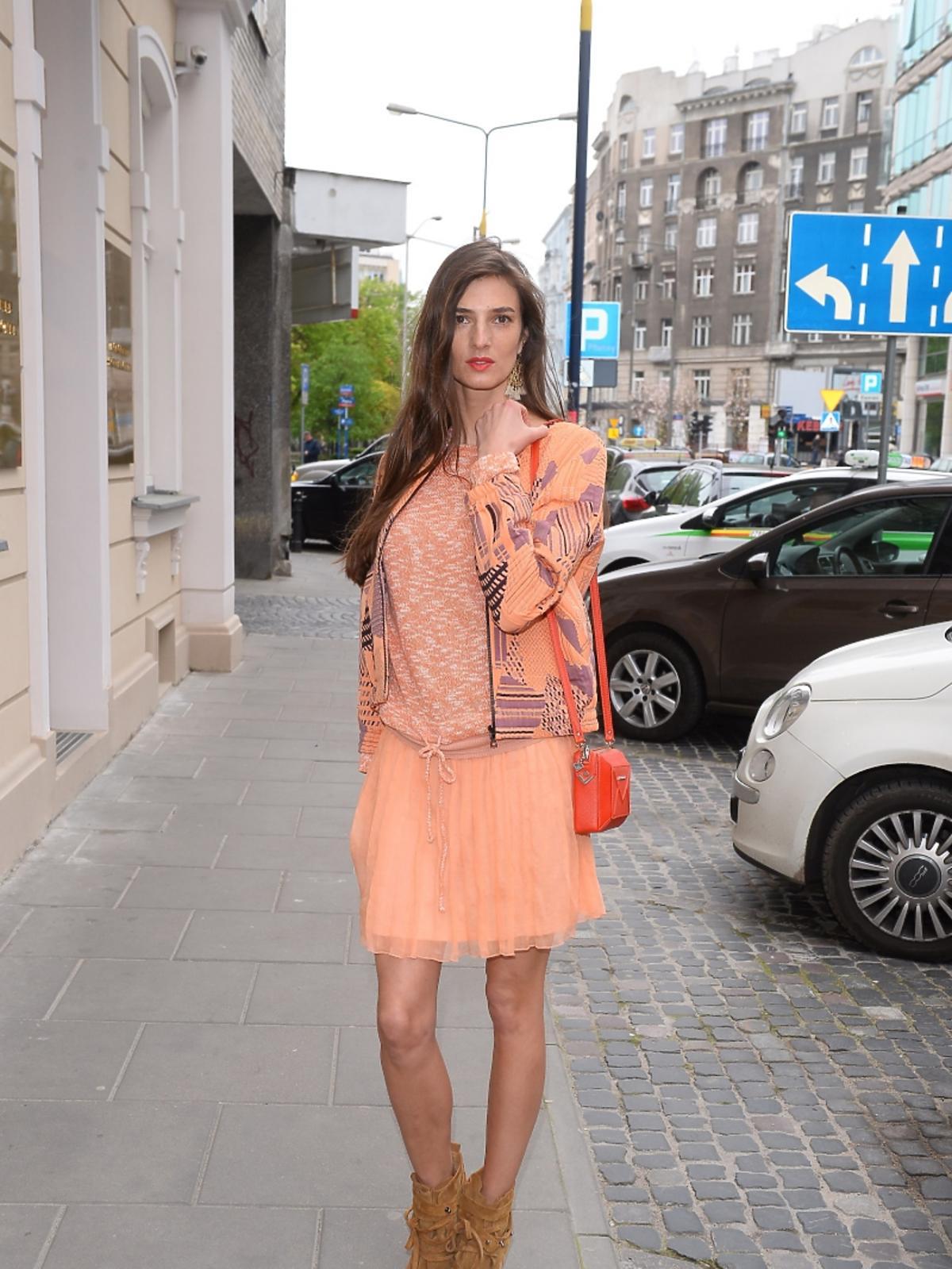 Kamila Szczawińska na otwarciu butiku marki 303 Avenue