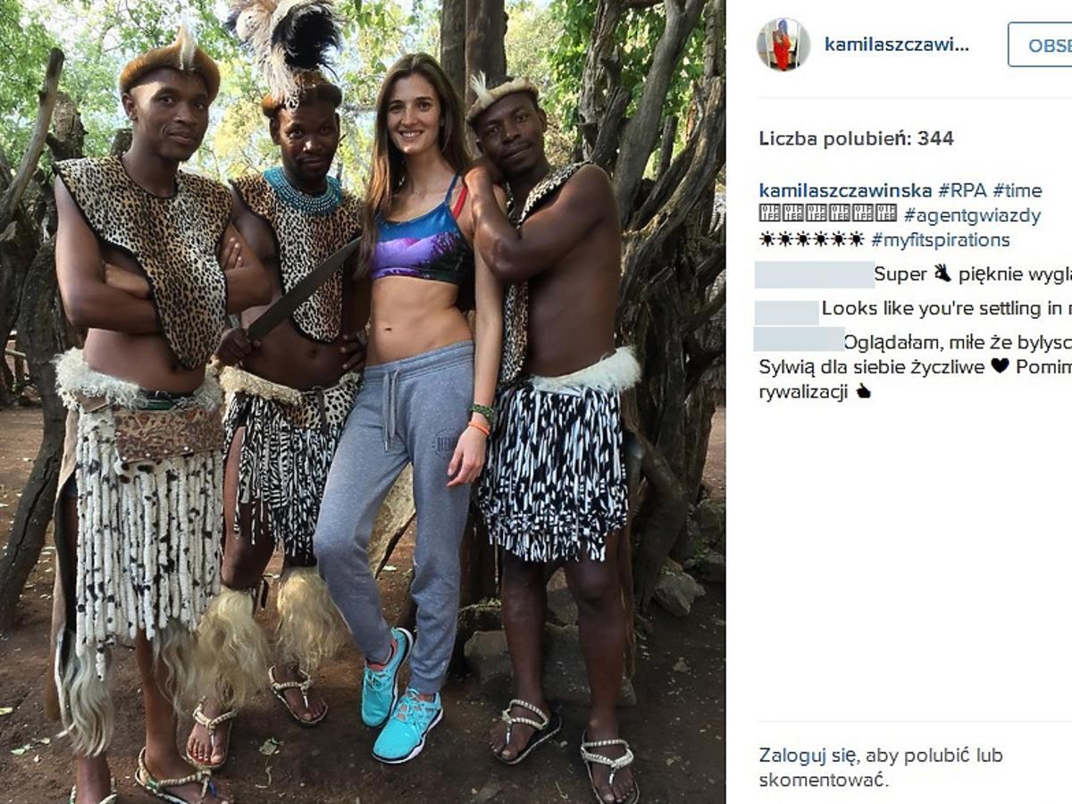 Kamila Szczawińska pokazała zdjęcia z planu Agenta