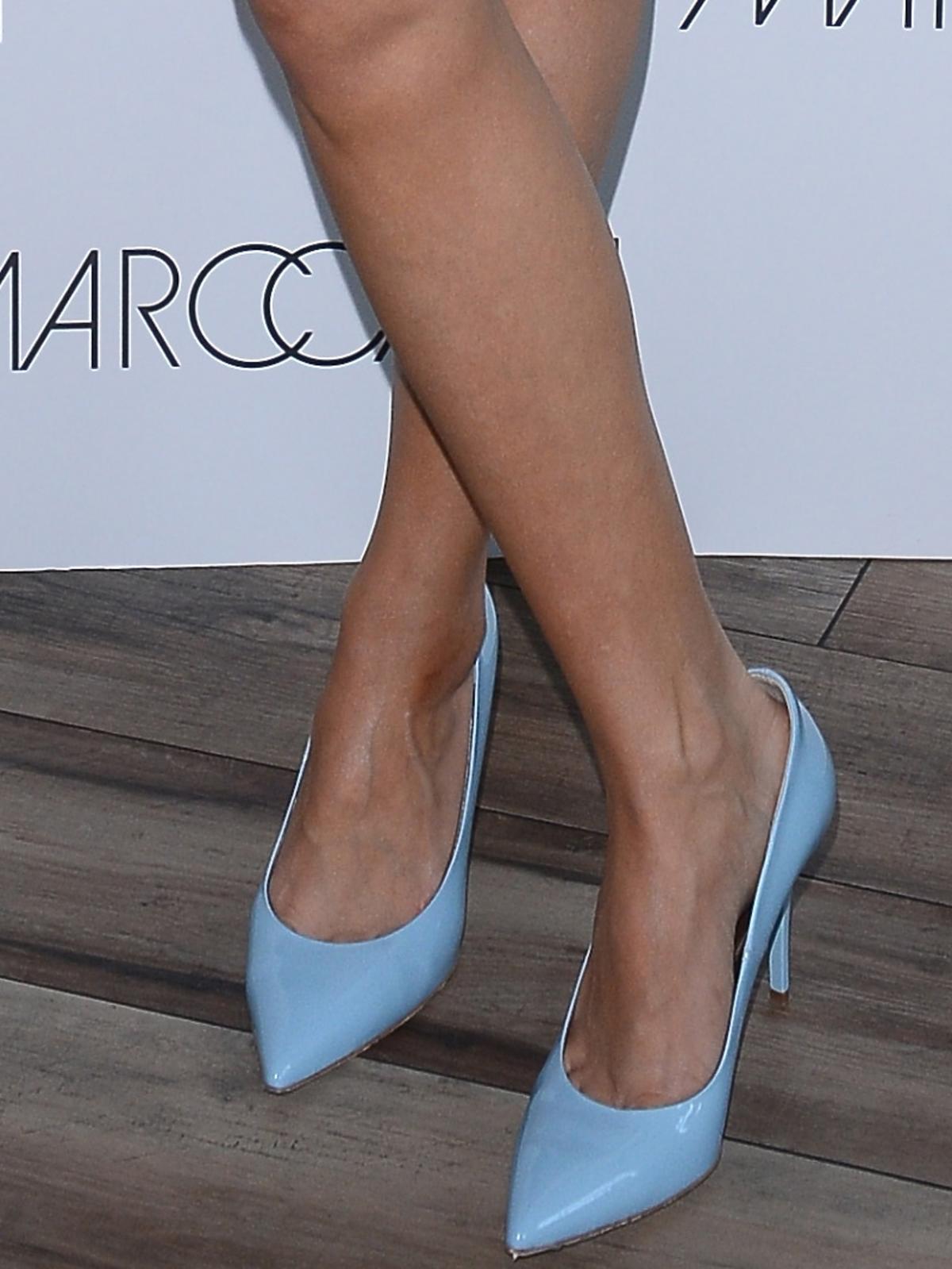 Kamilla Baar na konferencji marki Marc Cain