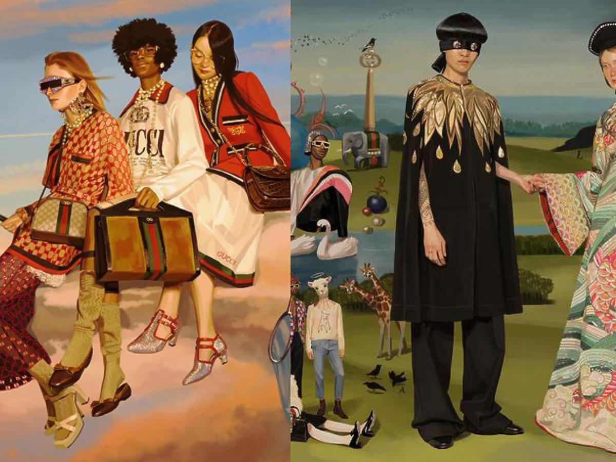 Kampania Gucci wiosna/lato 18