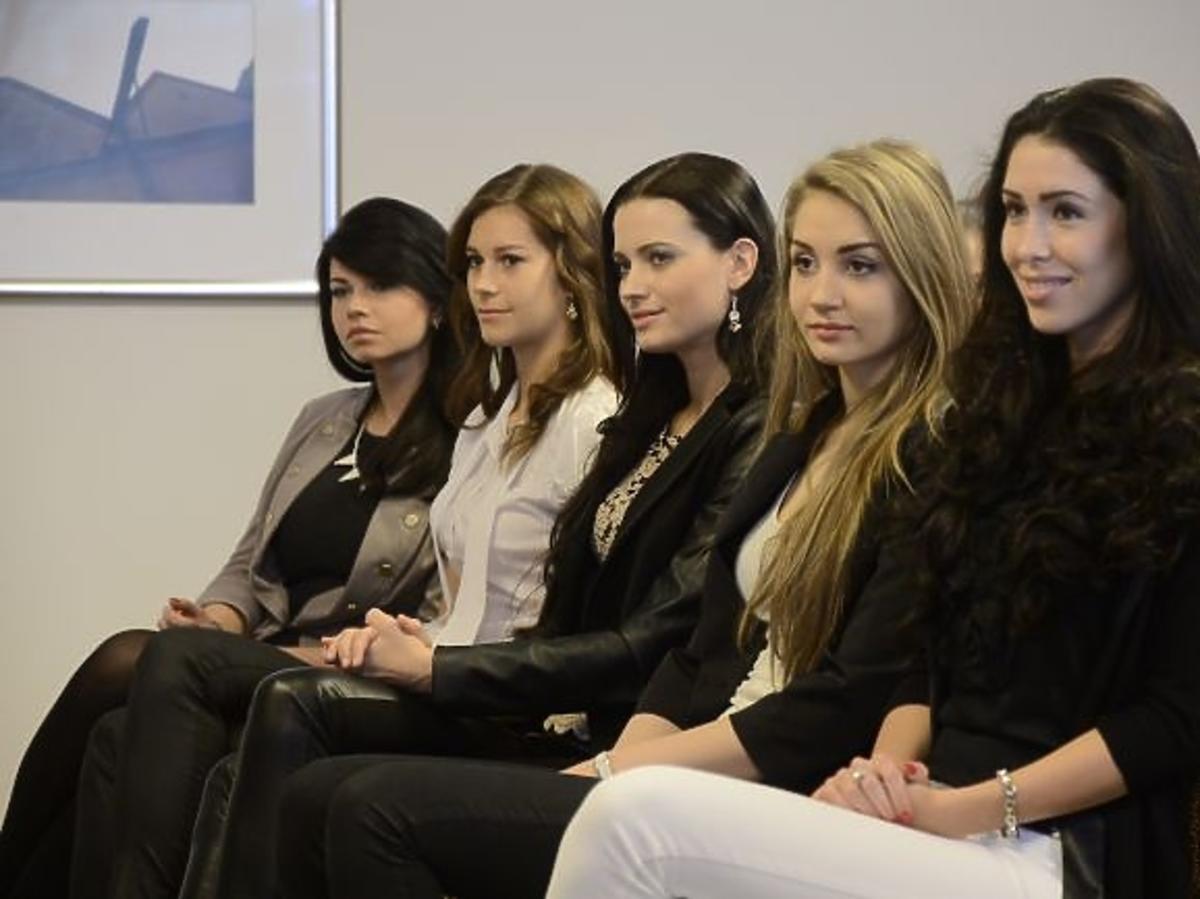 Kandydatki na Miss Polonię 2012 podczas przygotowań do finałowej gali konkursu