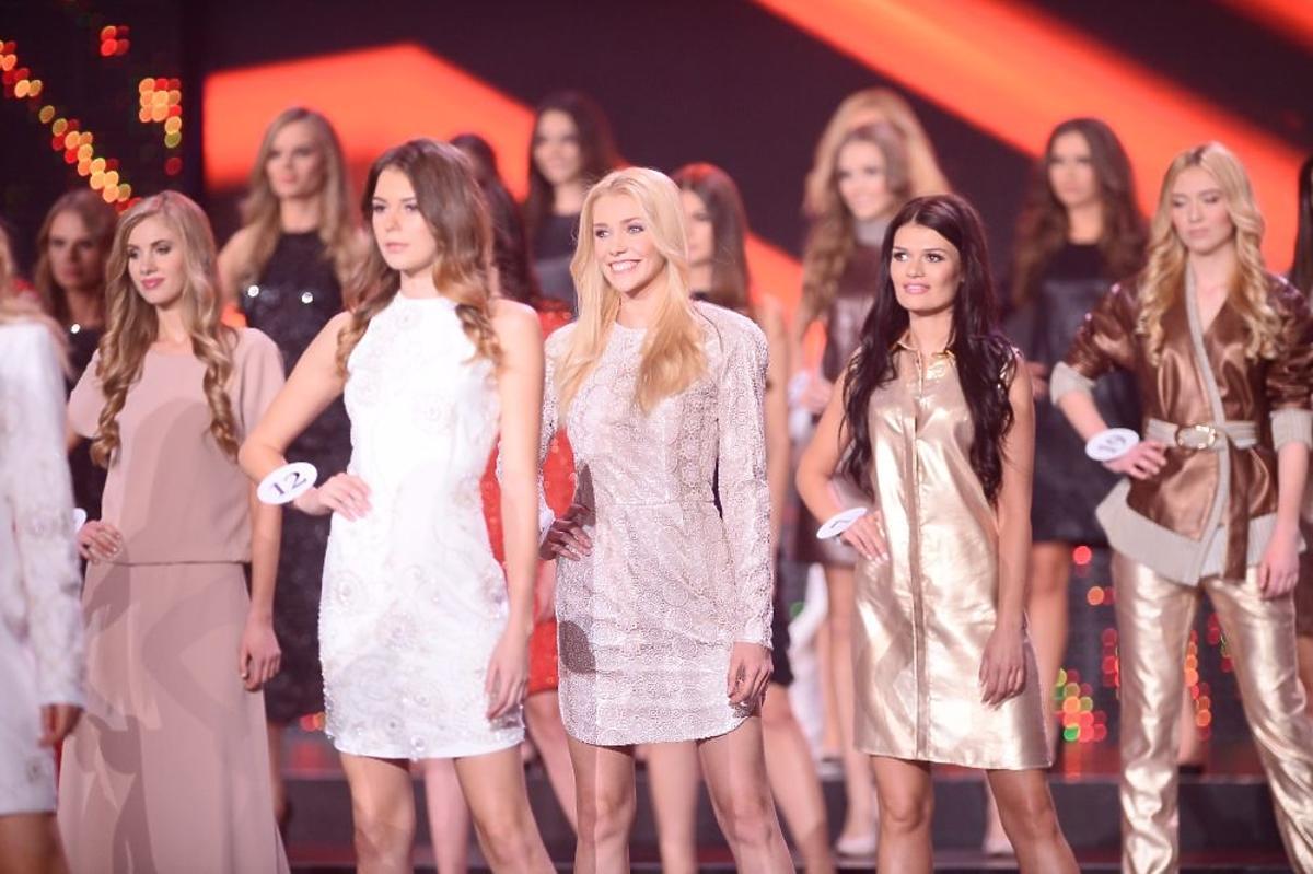 Kandydatki na Miss Polski 2015 w strojach wieczorowych