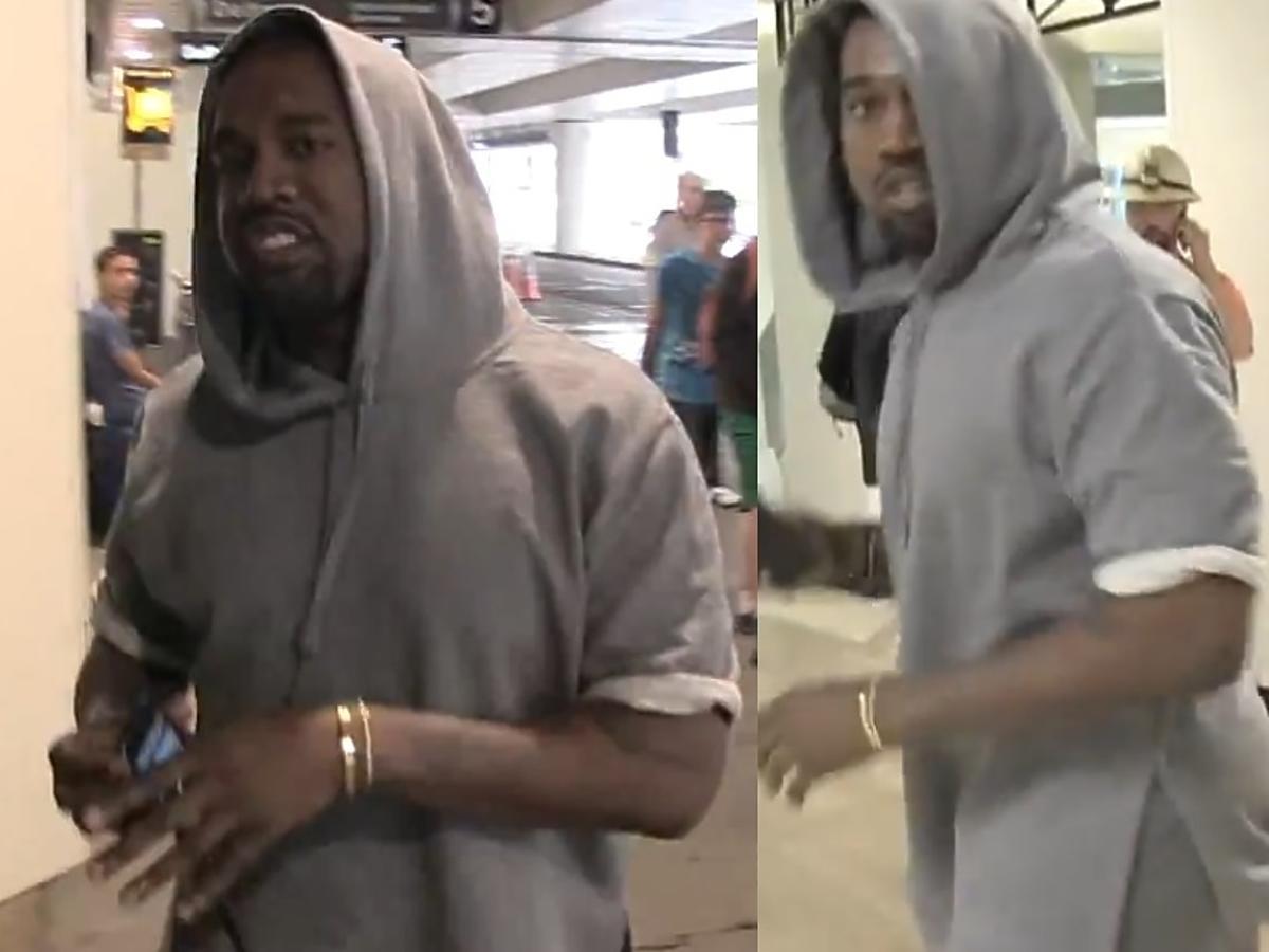 Kanye West bije paparazzo