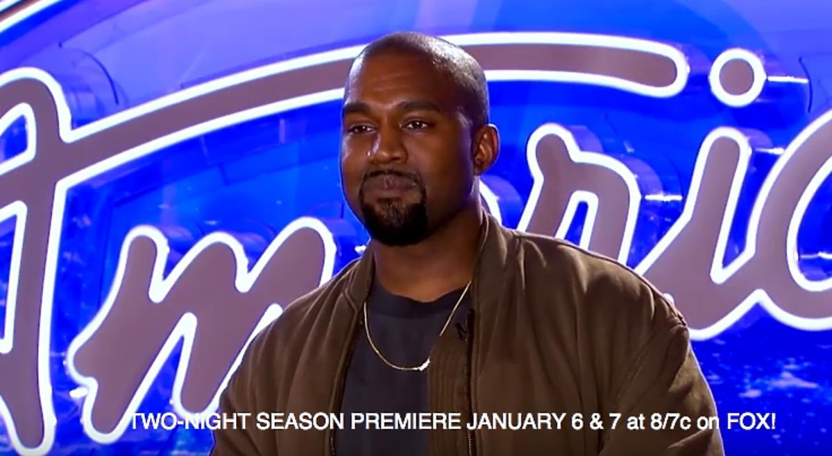 Kanye West jako uczestnik w amerykańskim Idolu