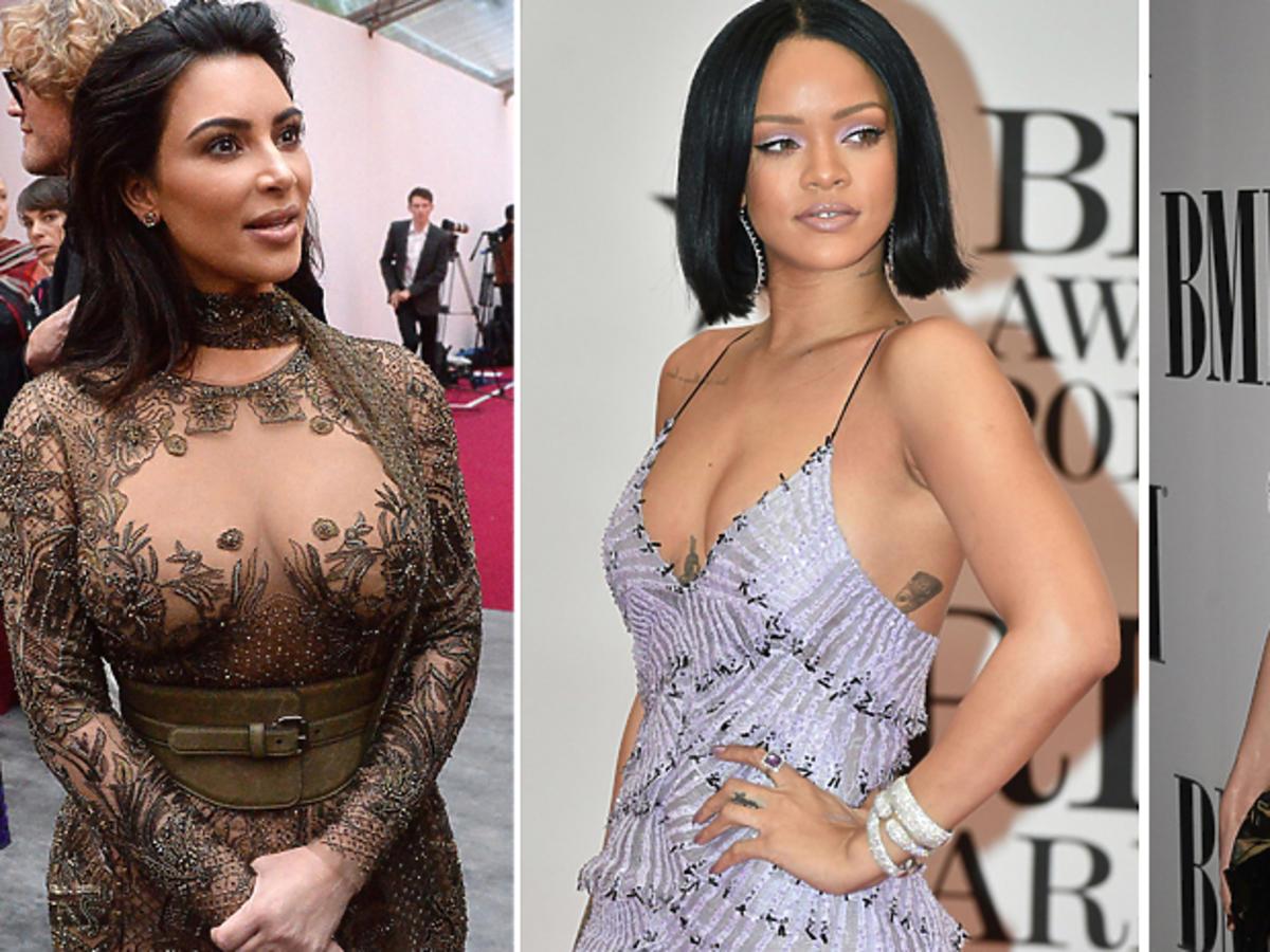 Kardashian, Swift, Rihanna