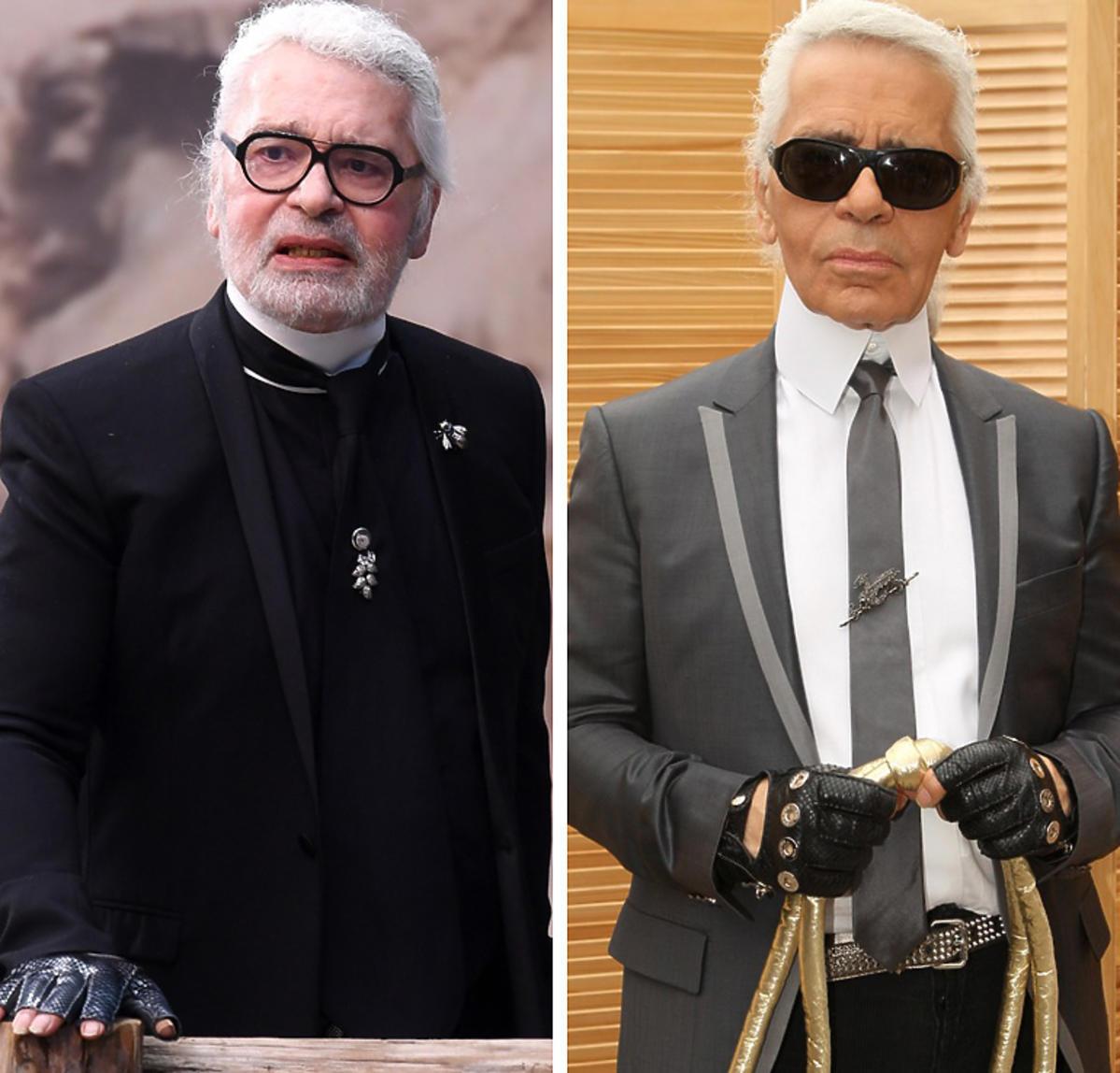 Karl Lagerfeld - jak zmieniła go choroba
