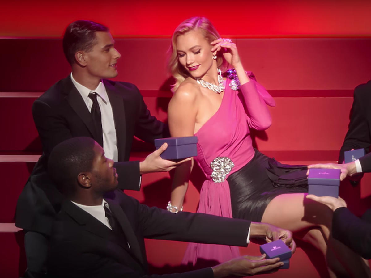 Karlie Kloss jako Marilyn Monroe dla Swarovski