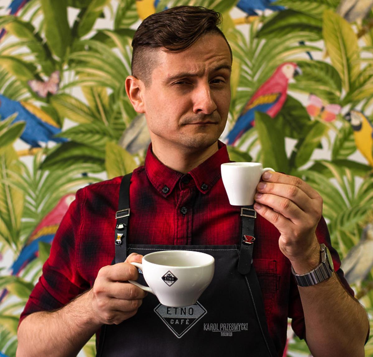 Karol Przesmycki, Trener Baristów Etno Cafe