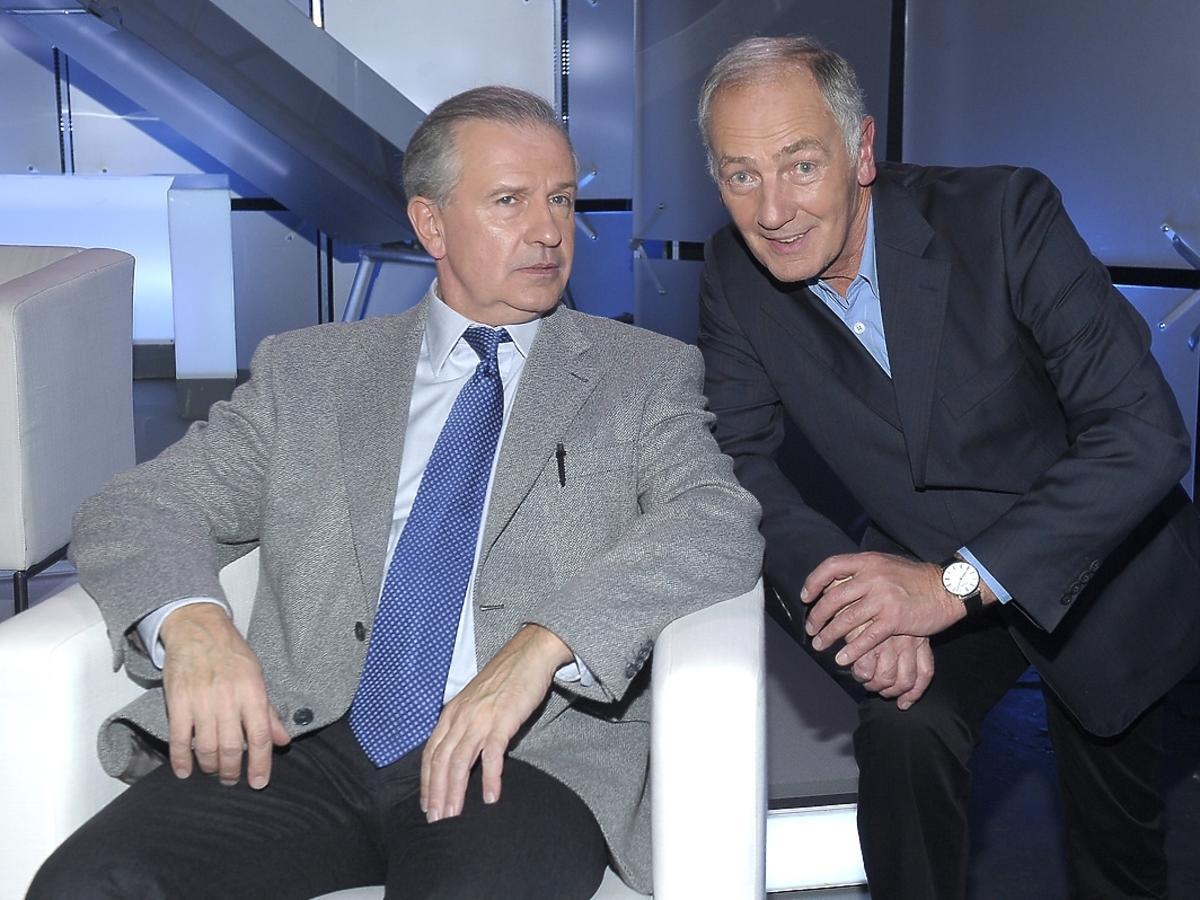 Karol Strasbureger i Tomasz Stockinger na