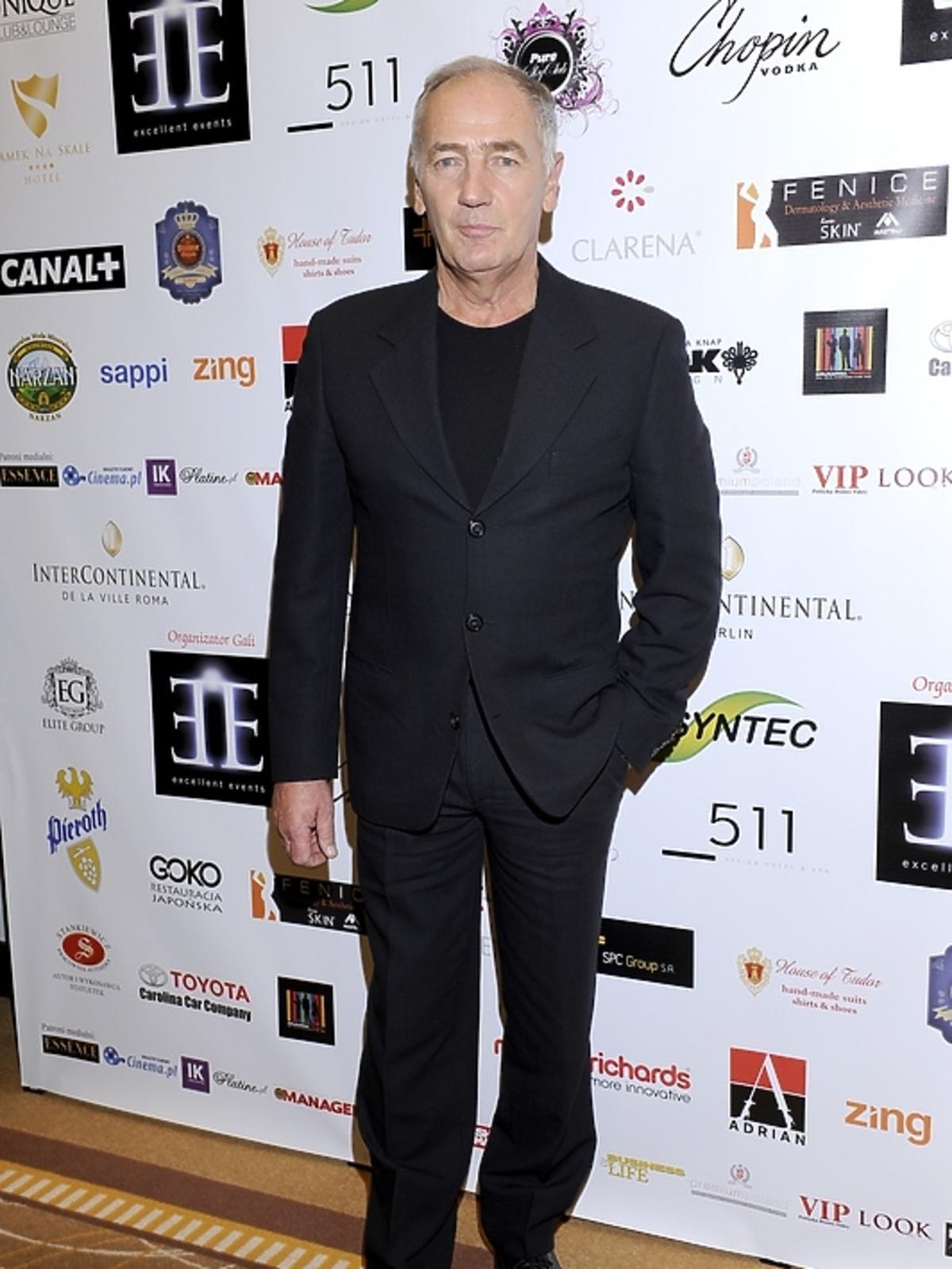 Karol Strasburger na gali Luksusowa Marka Roku 2012