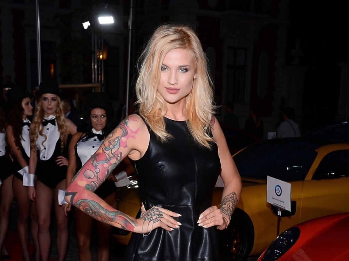 Karolina Gilon na imprezie Samochód Roku Playboya