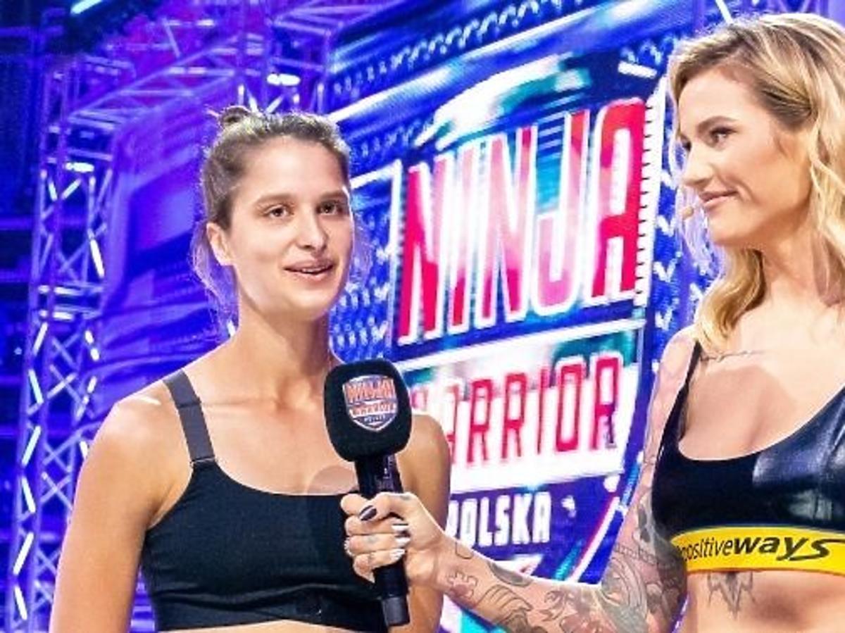 Karolina Gilon z uczestniczką programu Ninja Warrior Polska
