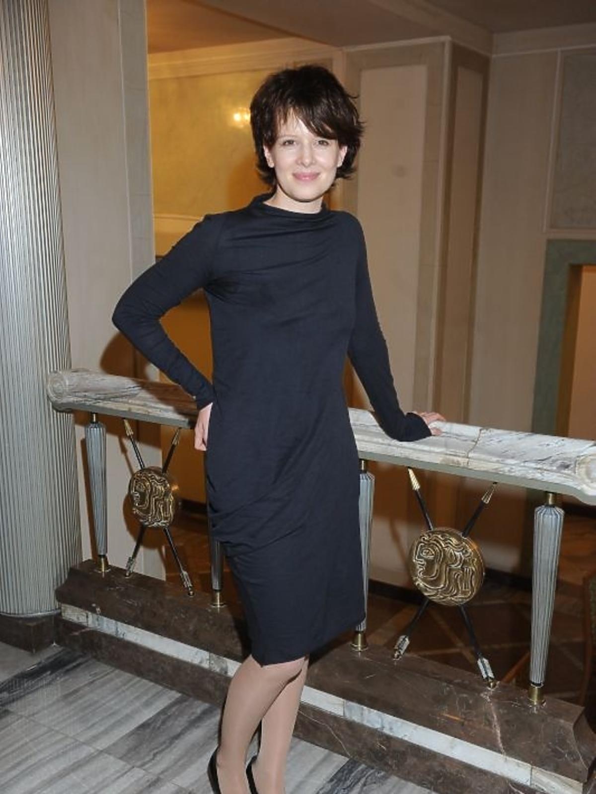 Karolina Gruszka na gali Paszporty Polityki 2012