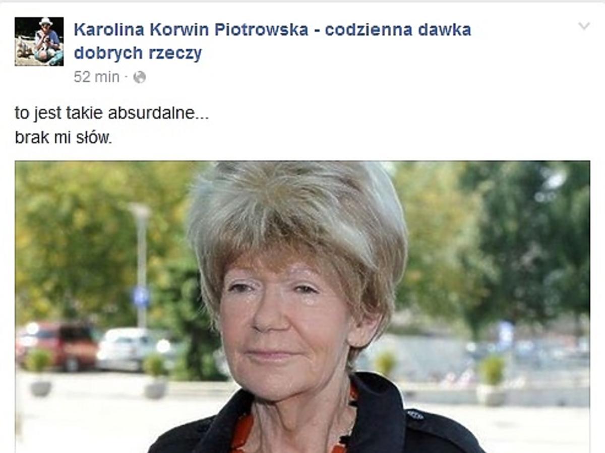 Karolina Korwin Piotrowska, Maria Czubaszek