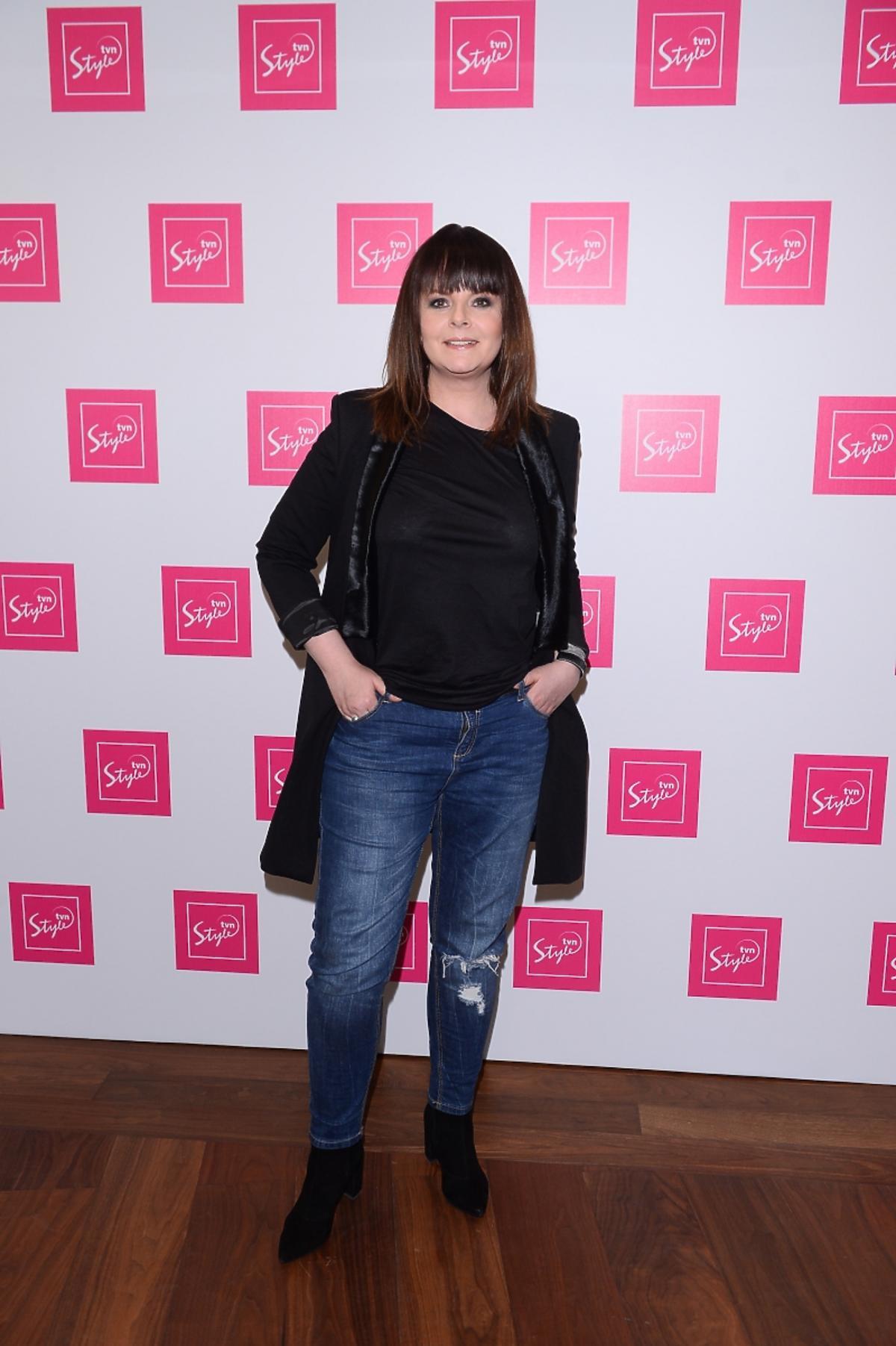 Karolina Korwin Piotrowska na prezentacji ramówki TVN Style