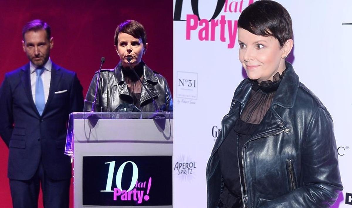 Karolina Korwin-Piotrowska na urodzinowej imprezie Party i Party.pl