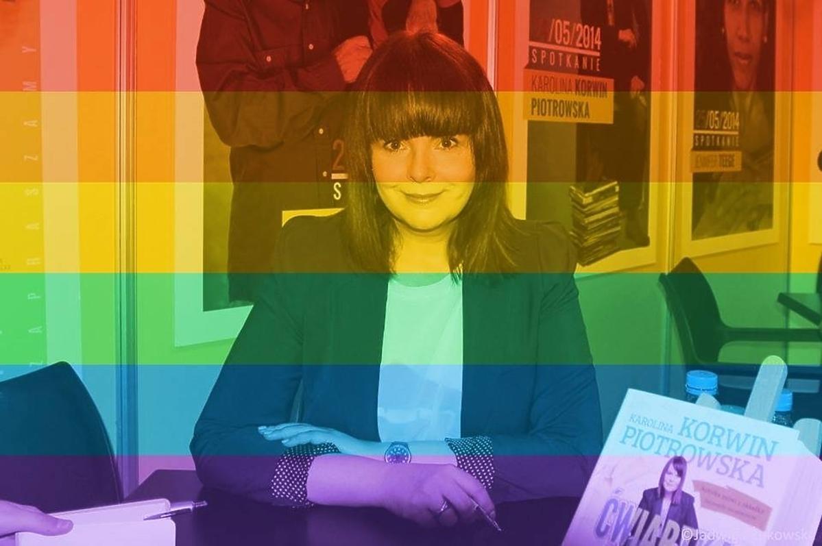 Karolina Korwin Piotrowska popiera małżeństwa jednopłciowe