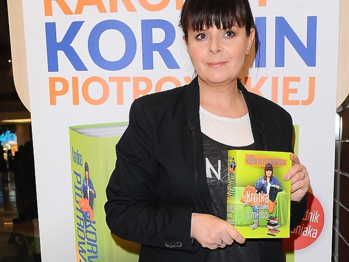 Karolina Korwin Piotrowska promuje książkę